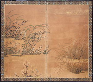 Screens, scrolls and other Japanese paintings
